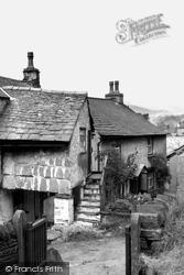 Hawkshead, Pillared House c.1955