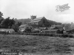Hawkshead, The Church And Wordsworth's Grammar School 1929