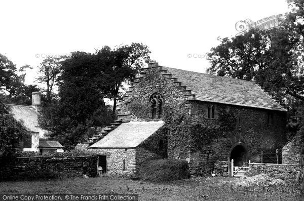 Hawkshead, the Old Courthouse 1896.  (Neg. 38835)  © Copyright The Francis Frith Collection 2008. http://www.francisfrith.com