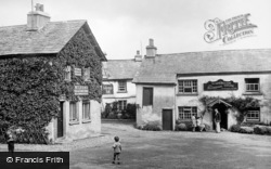 Hawkshead, The Old King's Arms Boarding House 1929