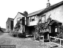 Hawkshead, The Pillared Cottage 1930