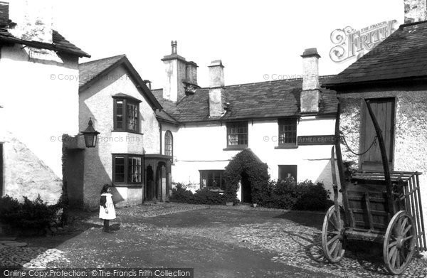 Hawkshead, the Square 1896.  (Neg. 38828)  © Copyright The Francis Frith Collection 2008. http://www.francisfrith.com
