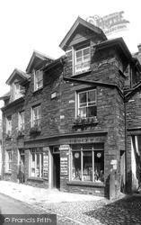 Hawkshead, Village Post Office 1896