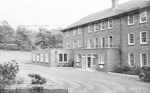 Photo of Hawley, Abercorn House c.1955