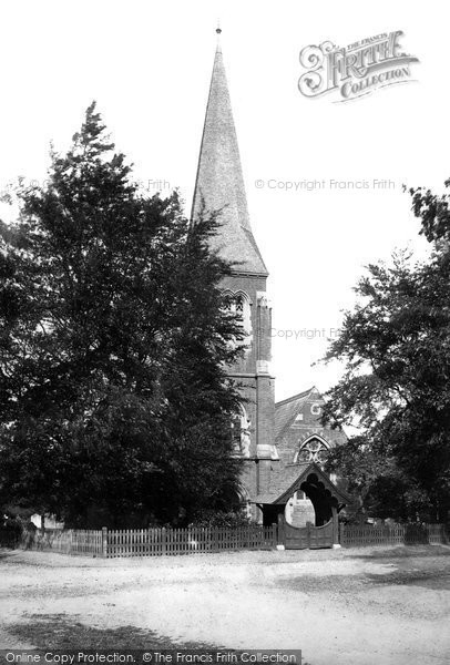 Photo of Hawley, Holy Trinity Church 1895