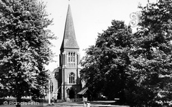 Hawley, Holy Trinity Parish Church c.1955