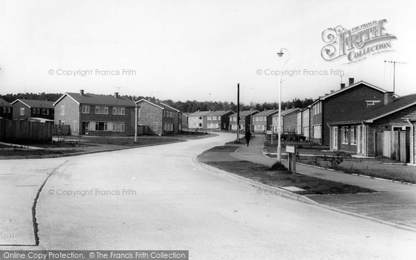 Photo of Hawley, Irvine Road c.1960