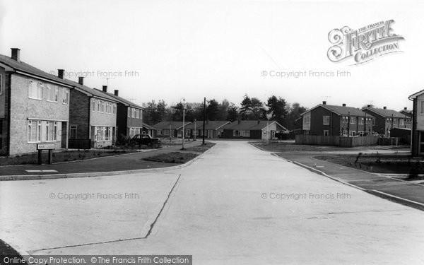 Photo of Hawley, Irvine Road c.1960