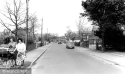 Hawley, Sandy Lane c.1960
