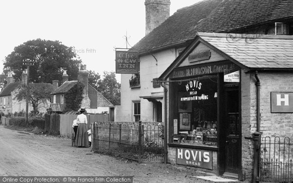 Photo of Hawley, The New Inn And Village Shop 1906