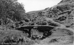 Bronte Bridge c.1955, Haworth