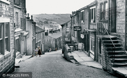 Main Street c.1955, Haworth