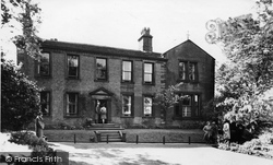 The Bronte  Museum c.1955, Haworth