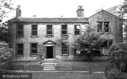 The Bronte Parsonage Museum c.1955, Haworth