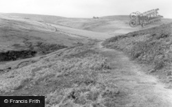 Top Withens, 'wuthering Heights' c.1955, Haworth