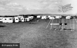 Hawsker, Seaview Caravan Site c.1960