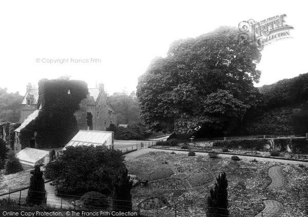 Hawthornden, Ben Jonson's Tree 1897