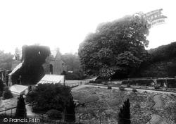 Ben Jonson's Tree 1897, Hawthornden
