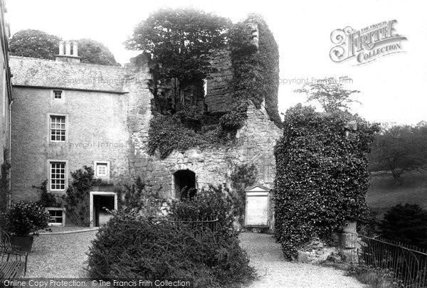 Hawthornden, Courtyard 1897