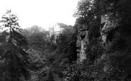 Hawthornden, from the Glen 1897