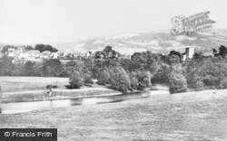 Hay-on-Wye, And Cusop Hill From The Warren c.1950