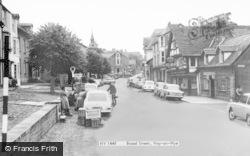 Hay-on-Wye, Broad Street 1966