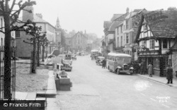Hay-on-Wye, Broad Street c.1950