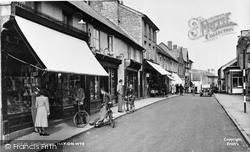Castle Street c.1950, Hay-on-Wye
