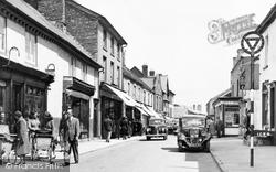 Castle Street c.1955, Hay-on-Wye
