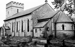 Church Of St Mary c.1965, Hay-on-Wye