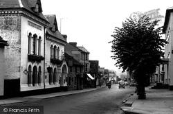 Crown Hotel c.1955, Hay-on-Wye