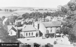 Hay-on-Wye, From The Castle c.1955