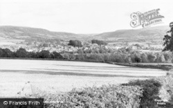 Hay-on-Wye, General View c.1955