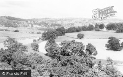 Hay-on-Wye, General View From Church Tower c.1965