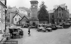 Market c.1965, Hay-on-Wye