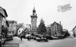 Hay-on-Wye, Market Square 1963