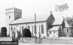 Hay-on-Wye, Parish Church c.1965