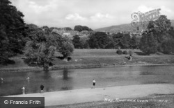 River And Town c.1950, Hay-on-Wye