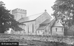 Hay-on-Wye, St Mary's Church c.1950