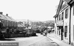 Swan Bank c.1955, Hay-on-Wye