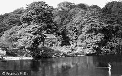 Hay-on-Wye, The Anglers Reach c.1950