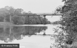 Hay-on-Wye, The Bridge c.1955