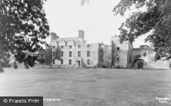 Hay-on-Wye, The Castle c.1955