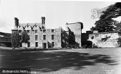 The Castle c.1955, Hay-on-Wye