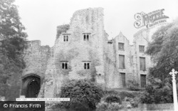 Hay-on-Wye, The Castle c.1965