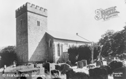 Hay-on-Wye, The Church c.1955