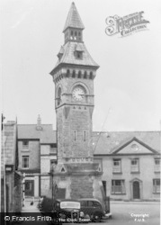 Hay-on-Wye, The Clock Tower c.1950
