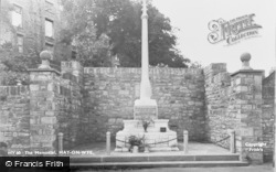 Hay-on-Wye, The Memorial c.1955