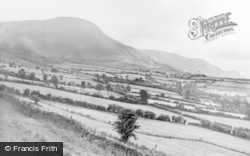 Hay-on-Wye, The Mountains c.1955