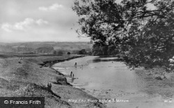 The River Wye And Warren c.1950, Hay-on-Wye